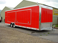 Double Door Vending Trailer - 1