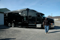 41ft Black Motor Coach - 1