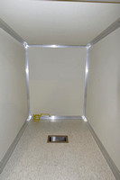 39ft BullEx Fire Training Trailer -  Generator Compartment with Vent